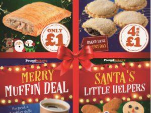 Christmas Deals at Poundbakery