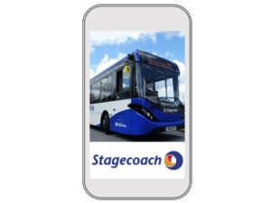 Tap the APP and buy before you ride on Chester's Park and Ride