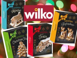 Make Your Own Gingerbread Kits from Wilko