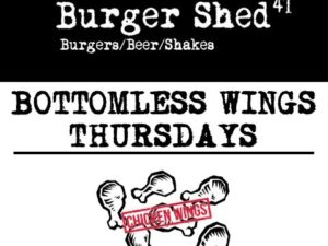 Burger Shed: Bottomless Wings Thursday