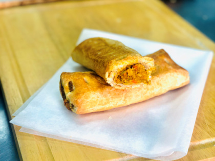Poundbakery bring back the Vegan Friendly Veg Curry Roll for Veganuary…and they're only 2 for £1