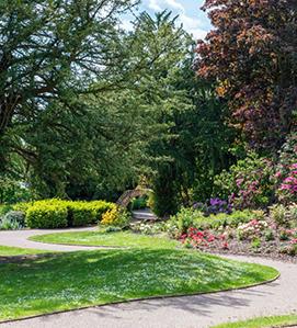Billy Hobby's Well: Grosvenor Park, Chester: