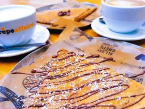 Crepeaffaire open for delivery and takeaway