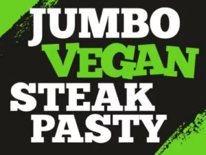 New Jumbo Vegan Steak Pasty for £1 at Poundbakery