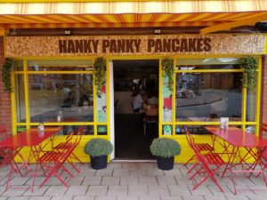 Hanky Panky Pancakes Delivery!