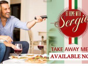 Sergio's At Home takeaway Italian