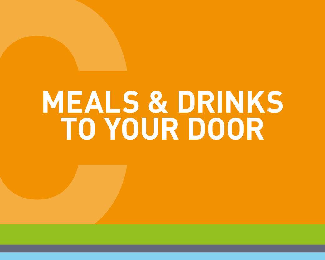#ChesterTogether Meals and Drinks to your door