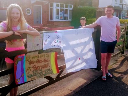 Chester youngster raises over £1,000 for the NHS
