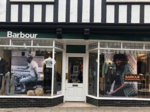 Barbour Chester open online