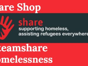 Buy a coffee for someone homeless – Share Shop