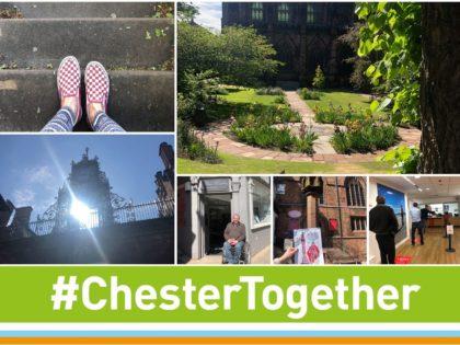 Emily's Urban Adventure in Chester city centre