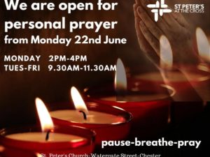 St Peter's at The Cross: Pause-Breathe-Pray