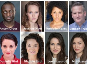 The cast for Grosvenor Park Open Air Theatre's The Comedy of Errors has been unveiled.