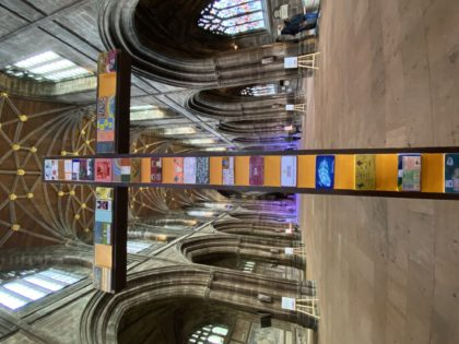 Chester Cathedral Community Cross unveiled