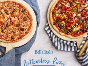 Bottomless Pizza at Bella Italia!