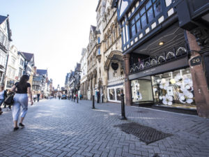 Chester BID's urgent plea to Chris Matheson MP to raise the city's need for support as Tier 2 city suffering Tier 3 restrictions