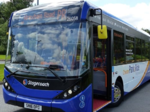 Council supports commuters and visitors with half price Park and Ride