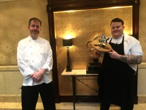 Senior Sous Chef at The Chester Grosvenor Wins Welsh Chef of the Year 2020