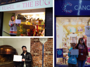 Chester's most 'festive' windows announced