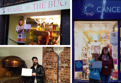 Chester's most 'festive' windows announced