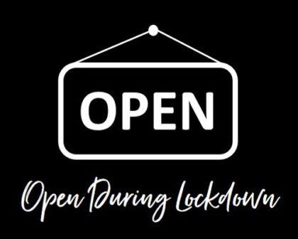 Open During Lockdown