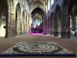 Memorial Spiral unveiled in Chester Cathedral