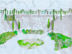 Grosvenor Park Open Air Theatre embraces sustainable staging with a living set