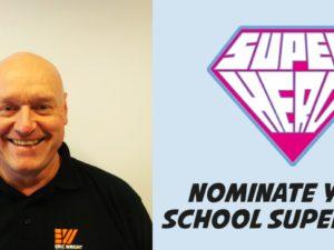 Ellesmere Port caretaker nominated for national School Superhero award
