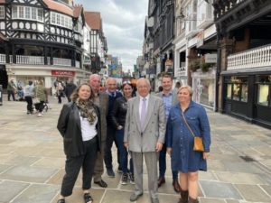 Chester BID joins new Police and Crime Commissioner and partners for a continued campaign against city-centre crime